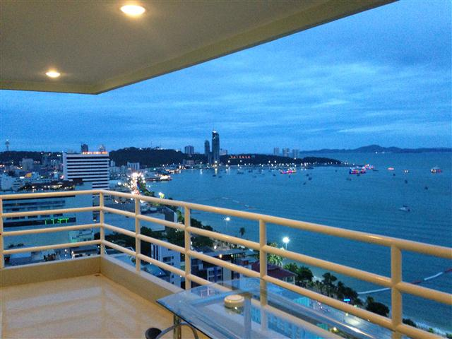 VT6 23/872 Suite Corner 1BR - Sea View - Condominium - Pattaya Central -