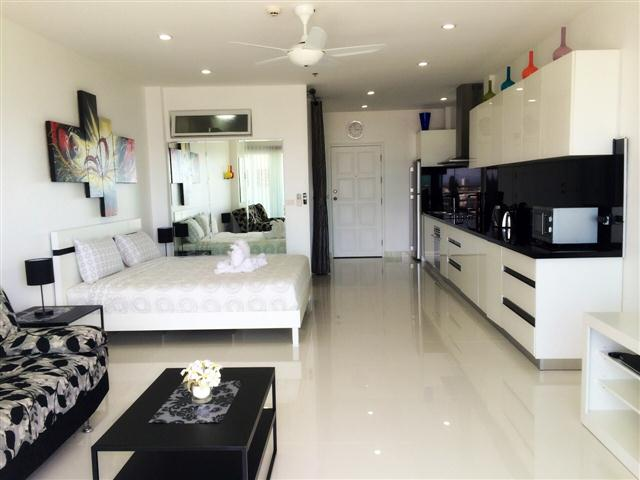 VT6 22/855 Studio Luxury - Sea View - Condominium - Pattaya Central -