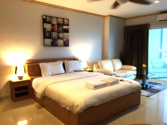 672 Studio Standard - Sea View - Condominium - Central Pattaya -