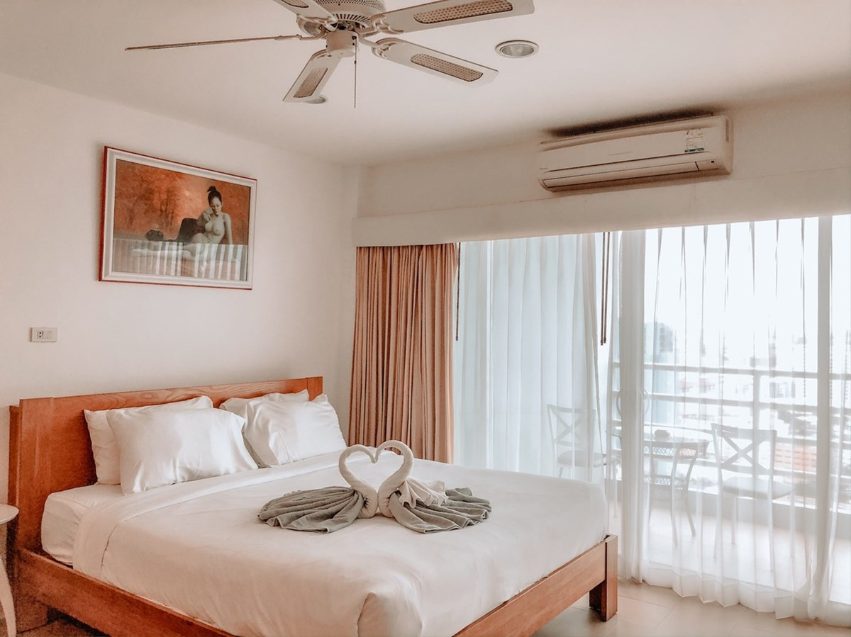 VT6 25/974 Studio Standard - Sea View - Condominium - Pattaya Central -