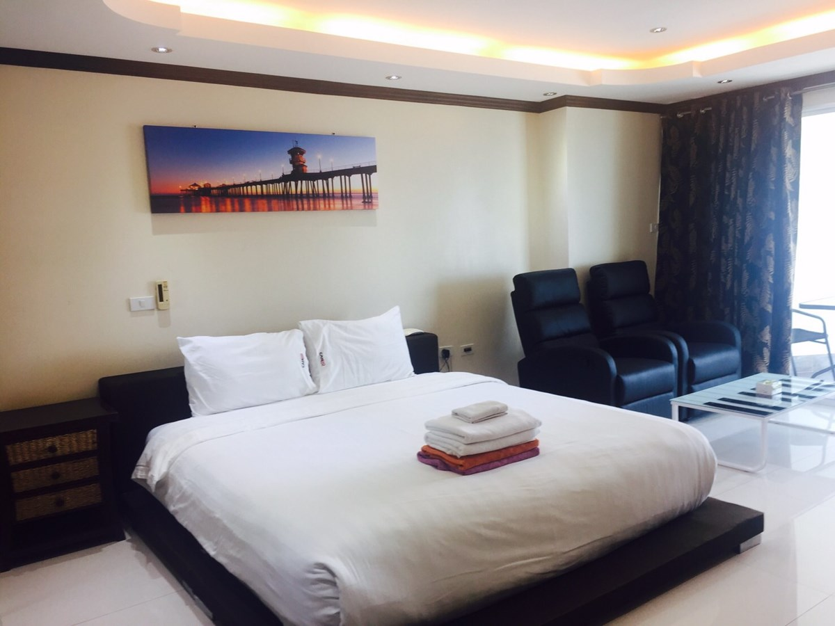 848 Studio Luxury - Sea View - Condominium - Central Pattaya -