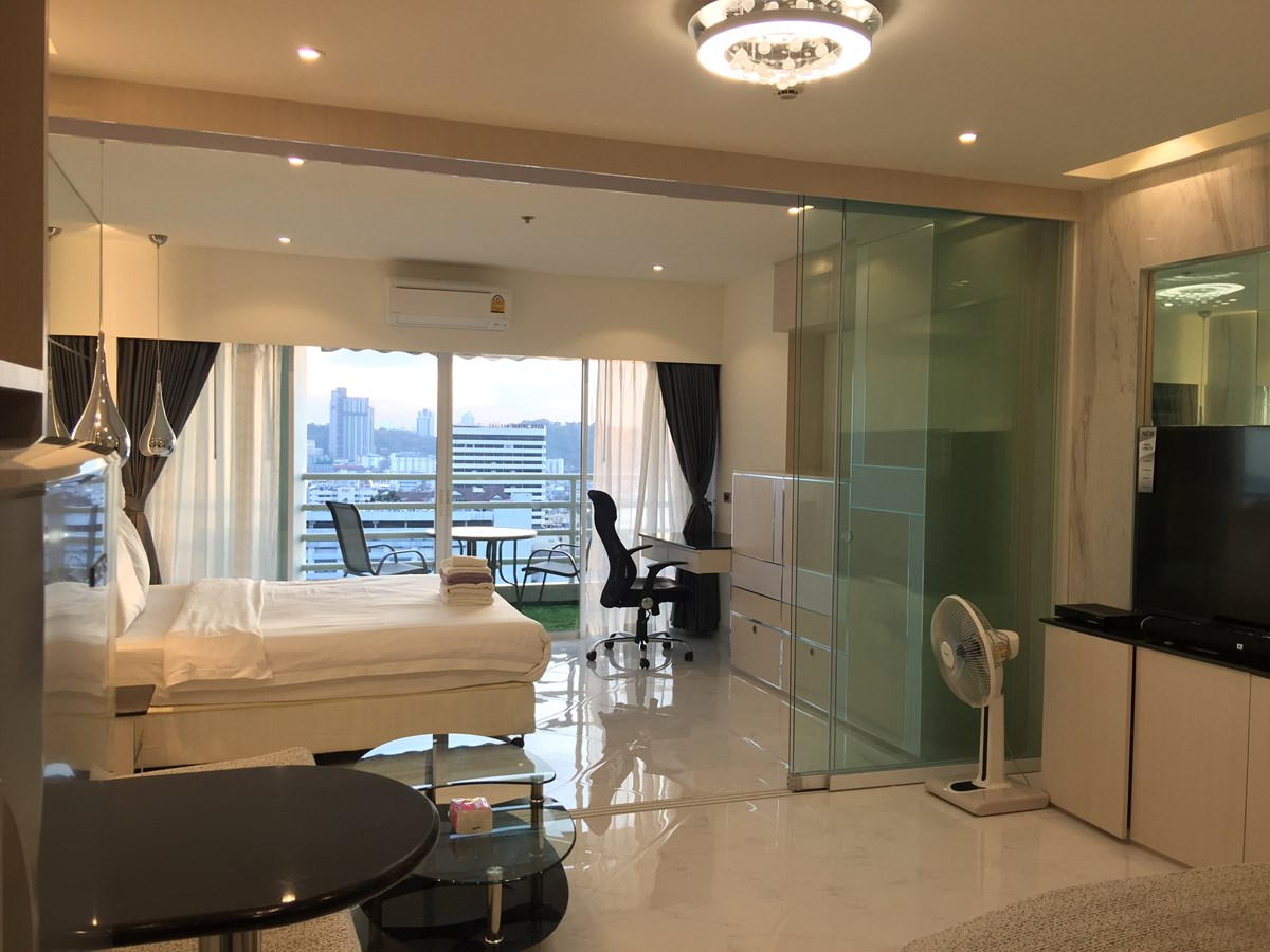 VT6 22/834 Studio VIP - Sea View  - Condominium - Pattaya Central -