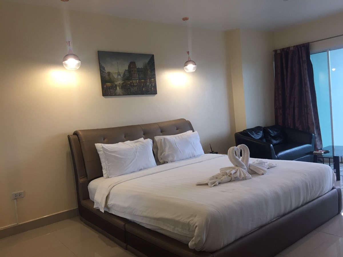 VT6 12/414 Studio Budget - Sea View - Condominium - Pattaya Central -