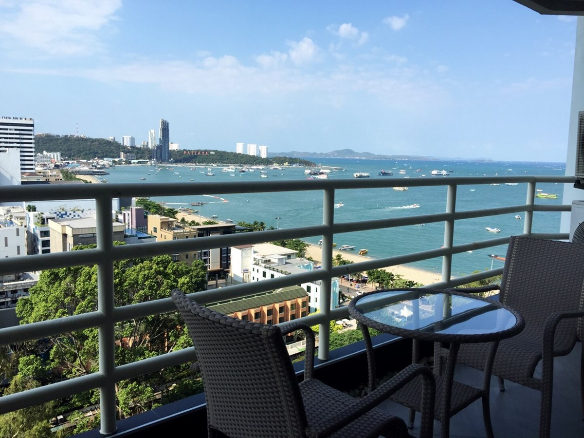VT6 17/616 1BR Luxury - Sea View - Condominium - Pattaya Central -