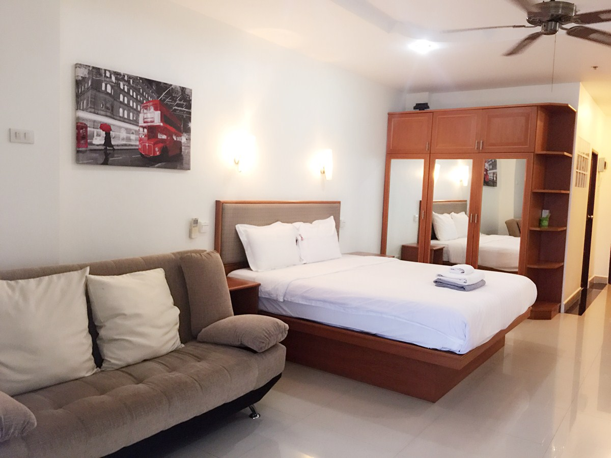 VT6 10/361 Studio Budget - Sea View - Condominium - Pattaya Central -