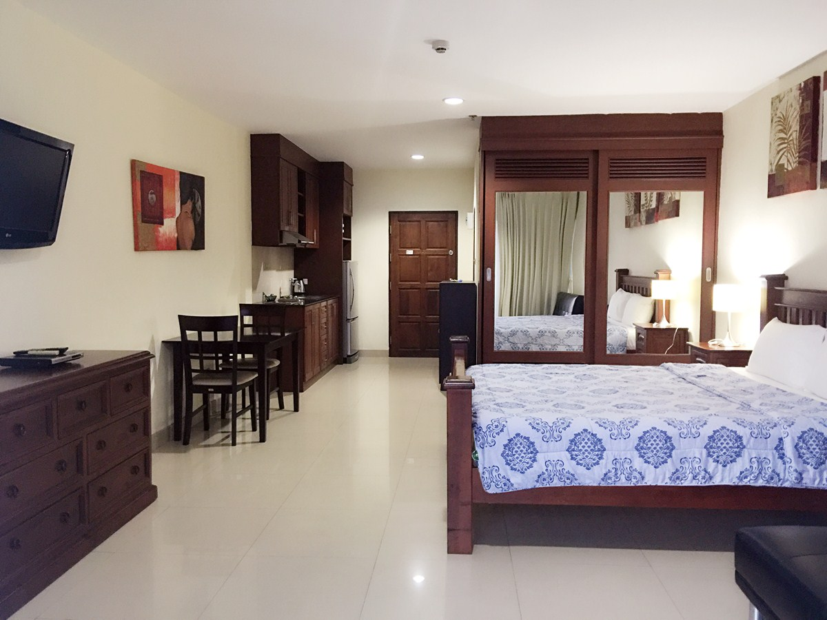 VT6 12/407 Studio Standard - Sea View - Condominium - Pattaya Central -